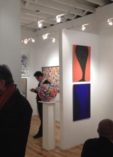 Photo Atlantic Gallery NYC 2015 - site plan d'ensemble large avec peintures EH copy