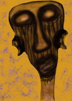 Mélancolie 1 Chianti format A signé copy